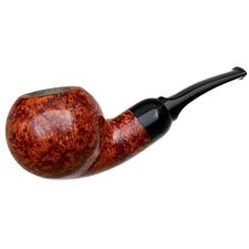 BriarWorks Original Crimson Smooth Stubby Bent Apple (OR01)