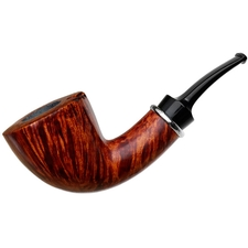 BriarWorks Original Crimson Smooth Bent Dublin (OR04)