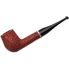 BriarWorks Classic Crimson Sandblasted Billiard