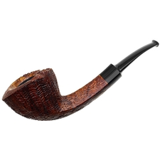 Chheda Sandblasted Danish Bent Dublin (332)