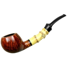 Steve Liskey Smooth Bent Apple with Bamboo