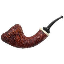 Jody Davis Sandblasted Acorn with American Holly (Friar) (A16) (10)