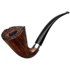 Cardinal House Hollingsworth Smooth Bent Dublin with Silver