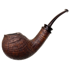 Bill Shalosky Sandblasted Gourd with New Guinea Ebony (248)