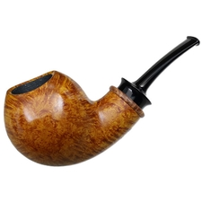 Bill Shalosky Smooth Asymmetric Bent Apple with Maple Burl (300)