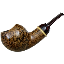 Bill Shalosky Smooth Asymmetric Bent Apple with Boxwood (301)