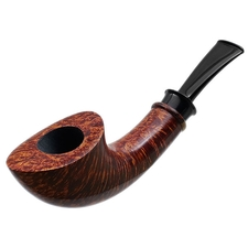 Bill Shalosky Smooth Horn with Amboyna Burl (Uber) (318)