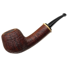John Klose Sandblasted Bent Apple with Orange (1601)