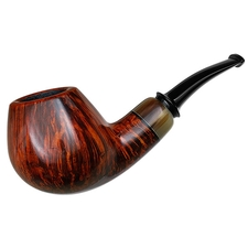 Nikolay Kozyrev Smooth Bent Brandy with Horn