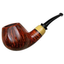 Nikolay Kozyrev Smooth Bent Brandy with Boxwood
