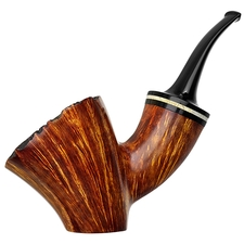 Clark Layton Smooth Bent Dublin Sitter with Moose Antler