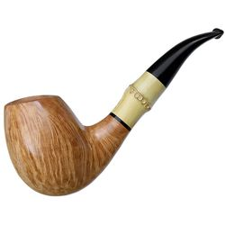G. Penzo Smooth Bent Egg with Bamboo (Flame) (5A)