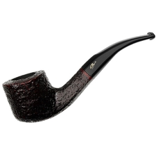 Savinelli Autograph Sigla Rusticated Bent Pot (6mm)