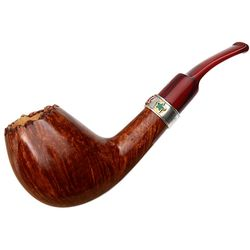 Savinelli Autograph Christmas Pipe 2017 Bent Egg (12/28) (6mm)