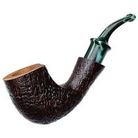 Savinelli Autograph Autograph Panel Bent Billiard (6mm)
