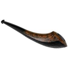 Dirk Heinemann Partially Sandblasted Horn