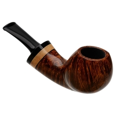 Dirk Heinemann Smooth Bent Egg with Lilac Wood