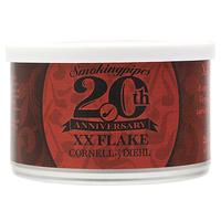 Cornell & Diehl Smokingpipes 20th Anniversary Blend: XX Flake 2oz