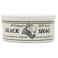 McClelland 221-B Series: Black Shag 50g