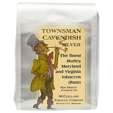 McClelland Townsman Cavendish: Silver (Rum) 8oz