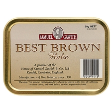 Samuel Gawith Best Brown Flake 50g