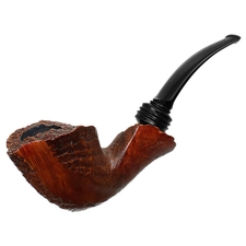 Danish Estates Knute Partially Sandblasted Bent Dublin (Unsmoked)