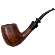 Danish Estates Stanwell 'Collectors' Smooth Bent Billiard (Regd. No.) (1960s)