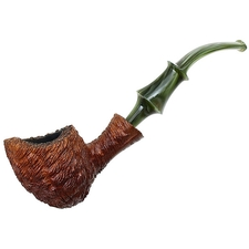 Danish Estates Monte Verdi Golden Tan Rusticated Bent Acorn (by Ben Wade)