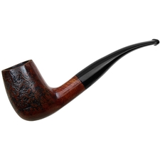Danish Estates P. Holtorp Partially Sandblasted Bent Billiard