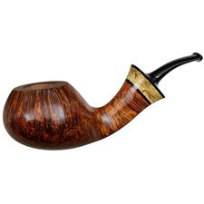 Danish Estates Kent Rasmussen Smooth Bent Apple with Masur Birch (Three Star) (Unsmoked)