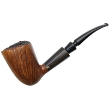 Danish Estates K. Johansen Smooth Bent Dublin with Horn