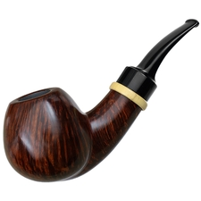 Danish Estates Peter Klein Smooth Bent Apple with Boxwood (9mm) (Unsmoked)