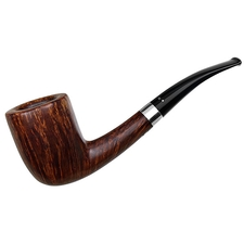 Danish Estates Winslow Smooth Bent Dublin with Silver (D)