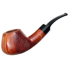 Danish Estates Winslow Crown Partially Rusticated Bent Brandy (Unsmoked)