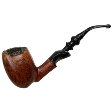 Danish Estates Pibe Jan Smooth Freehand with Horn (by Preben Holm)