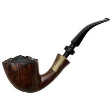 Danish Estates Svendborg Smooth Bent Dublin with Horn (D)