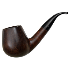 Danish Estates Bjarne Giant Smooth Bent Brandy (9mm)