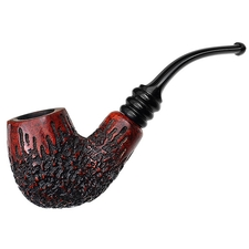 Danish Estates Nording Partially Rusticated Bent Billiard