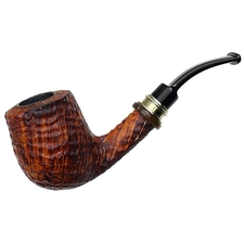 Danish Estates Neerup Classic Sandblasted Bent Billiard (2)