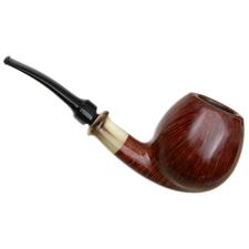 Danish Estates Kurt Balleby Smooth Bent Apple with Horn (Unsmoked)