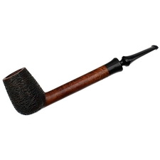 Danish Estates W.O. Larsen Partially Rusticated Canadian with Horn