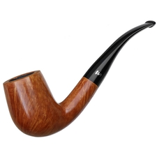 Danish Estates Stanwell Silver S Smooth Bent Billiard (85) (1970s-1990s) (Unsmoked)