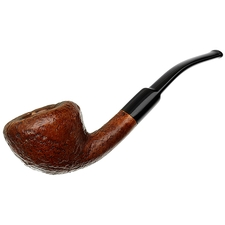 Danish Estates Scandia Sandblasted Bent Dublin (786) (by Stanwell) (Replacement Stem)