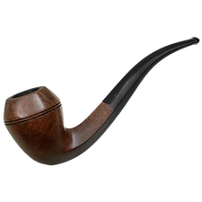 Danish Estates Stanwell Selected Briar Hand Made Smooth Bent Bulldog (11) (Regd. No.) (1960s)
