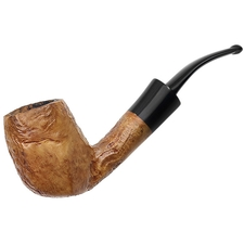 Danish Estates Ben Wade Prominence Partially Sandblasted Bent Billiard (4) (6) (Replacement Stem)