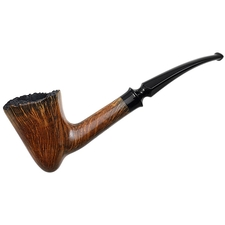 Danish Estates Celius Root Bishop Smooth Bent Dublin with Plateau