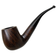 English Estates Charatan's Make Authentic Smooth Bent Billiard (210) (Lane-Era)