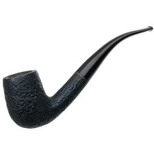 English Estates B. Barling & Sons Sandblasted Bent Billiard (4065)