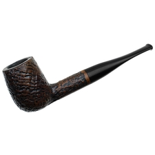 English Estates Charatan's Make Sandblasted Billiard (Lane-Era) (Replacement Stem)