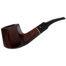 English Estates Comoy's Facet Smooth Paneled Bent Billiard (11) (C) (post-1980) (Unsmoked)
